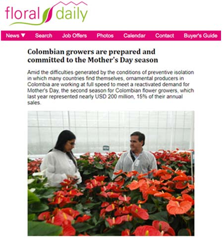Nursery growers preparing for Mother's Day